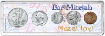 1944 Bar Mitzvah Coin Gift Set THUMBNAIL