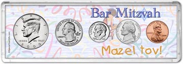 2000 Bar Mitzvah Coin Gift Set THUMBNAIL
