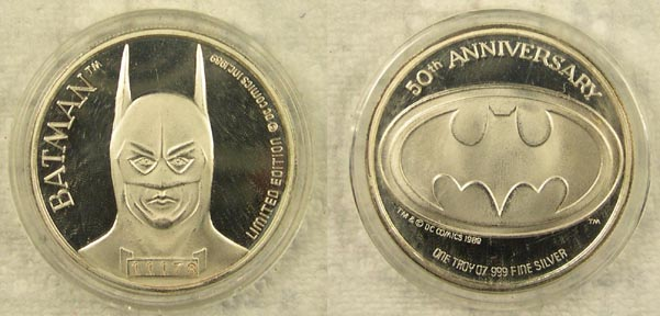 Batman - 50th Anniversary' Art Bar.
