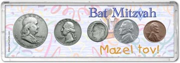 1948 Bat Mitzvah Coin Gift Set THUMBNAIL