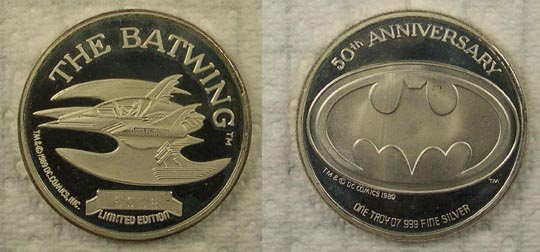 Batwing - 50th Anniversary' Art Bar.