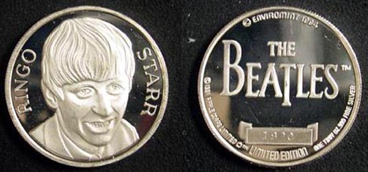 Beatles - Ringo Starr' Art Bar.