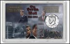 Berlin Wall Kennedy Half Dollar Display THUMBNAIL
