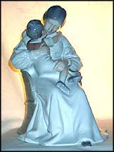 Mother And Child, Bing & Grondahl Figurine #1552