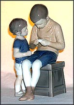 Tom And Willy, Bing & Grondahl Figurine #1648