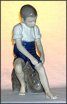 Pad About, Bing & Grondahl Figurine #1757