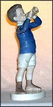 Boy with Trumpet, Bing & Grondahl Figurine #1792 MAIN
