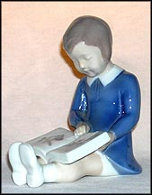 First Book, Bing & Grondahl Figurine #2247_MAIN