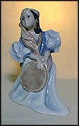 Gypsy Girl, Bing & Grondahl Figurine #2548