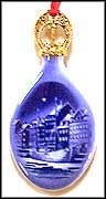 1989 Christmas Anchorage, Bing & Grondahl Annual Ornament