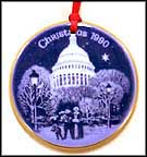 1990 Christmas Eve at the Capitol, Bing & Grondahl Christmas in America Ornament MAIN