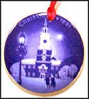 1991 Christmas at Independence Hall, Bing & Grondahl Christmas in America Ornament MAIN