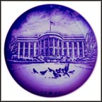 Christmas Eve At The White House Collector Plate by Christopher Magadini