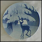 Anxiety Of The Coming Christmas Night Collector Plate by Dahl Jensen