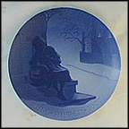 The Little Match Girl Collector Plate by Ingeborg Plockross