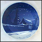 St. Petri Church Of Copenhagen Collector Plate by Povl Jorgensen