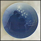 The Child's Christmas Collector Plate by Achton Friis