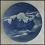 Lifeboat At Work Collector Plate by Hans Flugenring