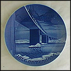 Lillebelt Bridge Collector Plate by Ove Larsen