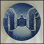 Sorgenfri Castle Collector Plate by Ove Larsen