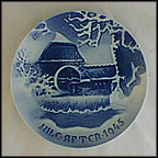 The Old Water Mill Collector Plate by Ove Larsen