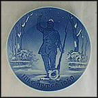 Landsoldaten, 19th Century Danish Soldier Collector Plate by Margrethe Hyldahl