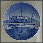 Kronborg Castle At Elsinore Collector Plate by Margrethe Hyldahl