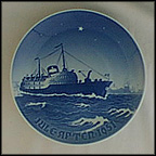Jens Bang Collector Plate by Margrethe Hyldahl