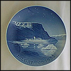 Royal Boat In Greenland Waters Collector Plate by Kjeld Bo Bonfils