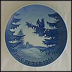 Winter Harmony Collector Plate by Kjeld Bo Bonfils