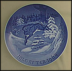 The Fir Tree And Hare Collector Plate by Henry Thelander