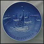 Home For Christmas Collector Plate by Henry Thelander