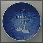 Christmas In The Village Collector Plate by Henry Thelander