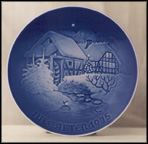The Old Water Mill Collector Plate by Henry Thelander