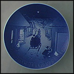 White Christmas Collector Plate by Henry Thelander