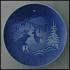 Christmas In The Woods Collector Plate by Henry Thelander
