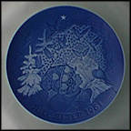 Christmas Peace Collector Plate by Henry Thelander