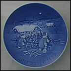 The Christmas Tree Collector Plate by Henry Thelander