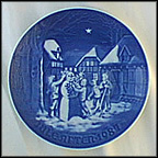 Snowman's Christmas Eve Collector Plate by Edvard Jensen
