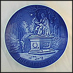 In Kings Garden Collector Plate by Edvard Jensen