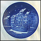 Christmas Anchorge Collector Plate by Edvard Jensen