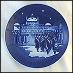 Changing Of The Guards Collector Plate by Edvard Jensen
