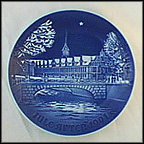 Copenhagen Stock Exchange Collector Plate by Edvard Jensen