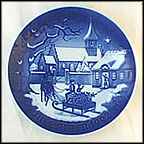Pastor's Christmas Collector Plate by Edvard Jensen