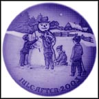 Frosty The Snowman Collector Plate by Jørgen Nielsen