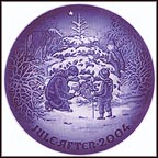 The Christmas Tree Collector Plate by Jørgen Nielsen