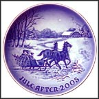 Bringing Home the Tree Collector Plate by Jørgen Nielsen