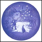 Light In The Snow Collector Plate by Jørgen Nielsen MAIN