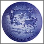 Santa's Presents Collector Plate by Jørgen Nielsen
