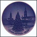 Yule Tree In Square Collector Plate by Hans Flugenring MAIN
